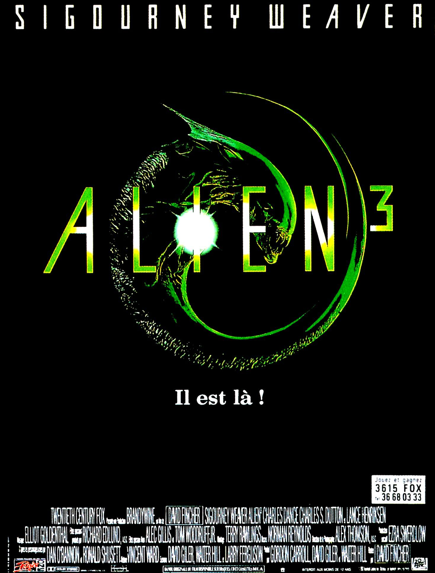 affiche poster alien 3 disney fox