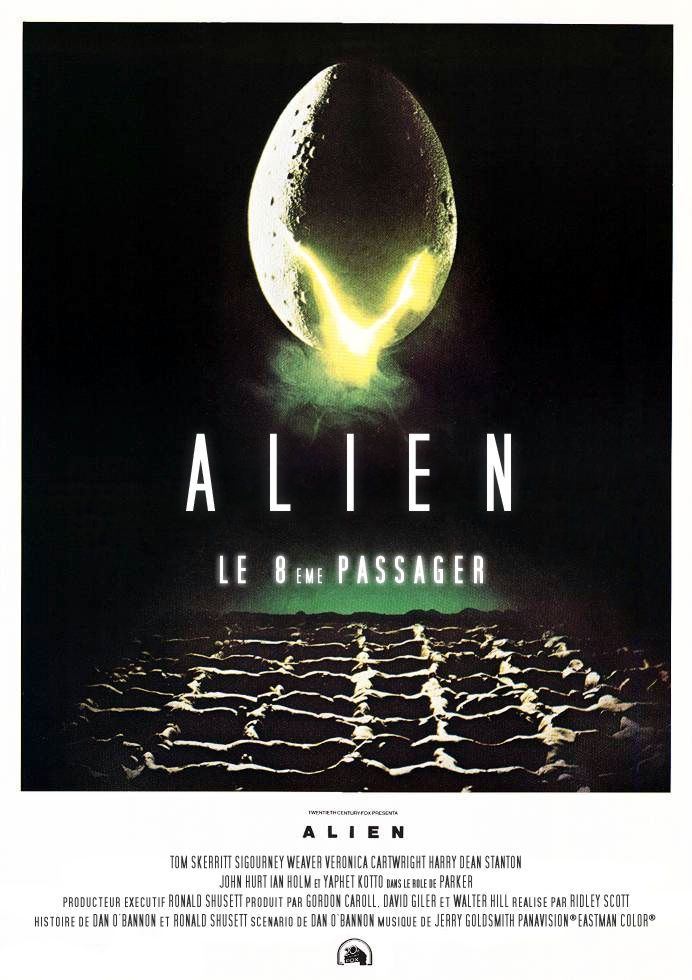 affiche poster alien 8eme passager disney fox
