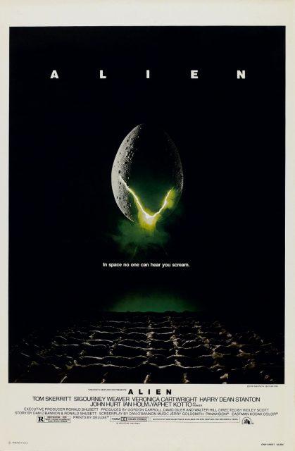 affiche poster alien 8eme passager disney fox