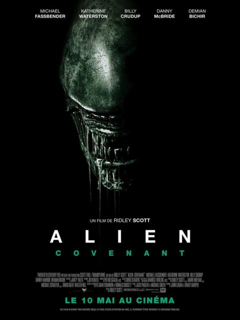 affiche poster alien covenant disney fox