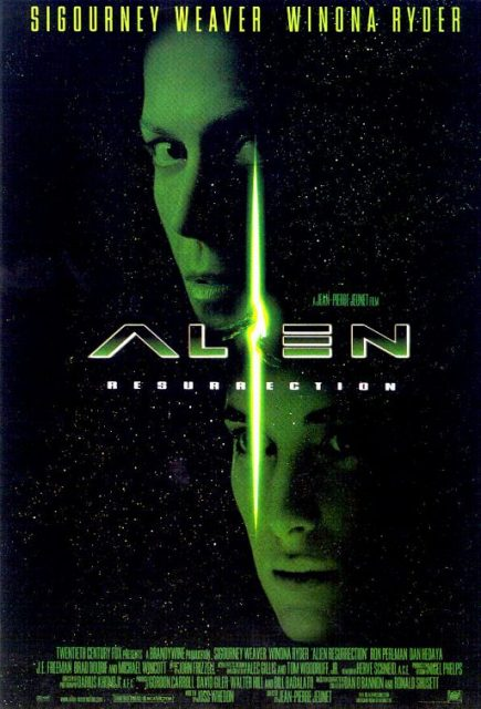affiche poster alien resurrection disney fox