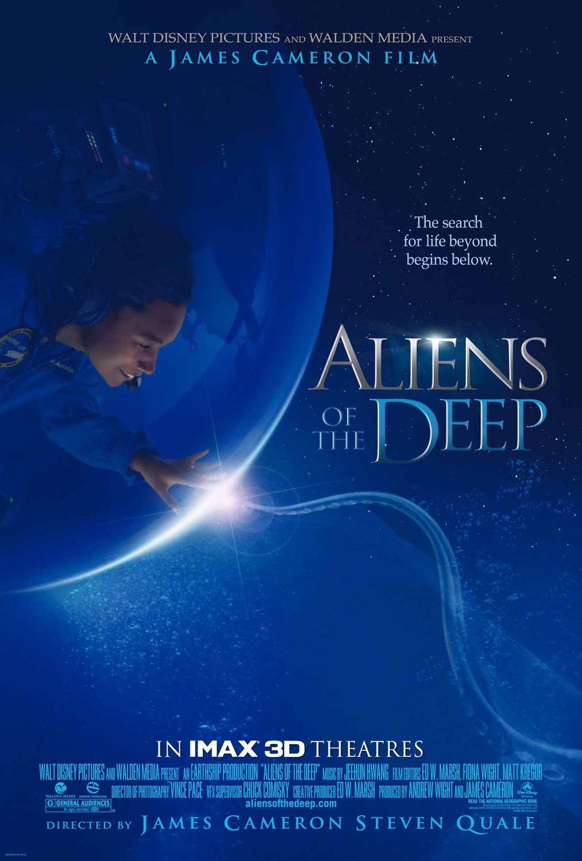 affiche poster aliens deep disney