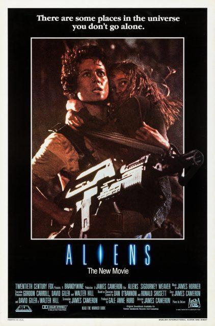 affiche poster aliens retour disney fox