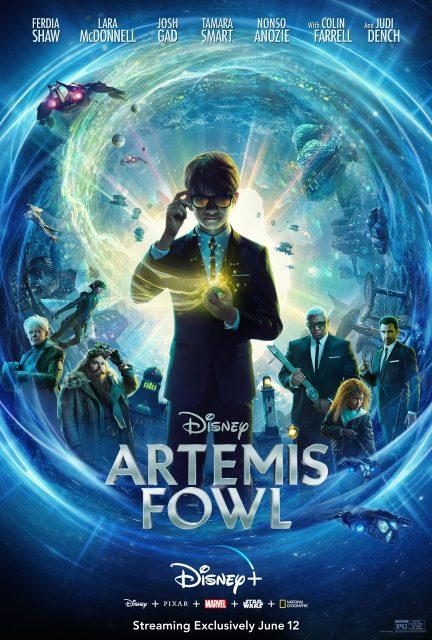 affiche poster artemis fowl disney plus