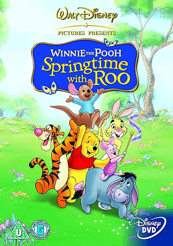 affiche poster aventures petit gourou springtime roo winnie disney