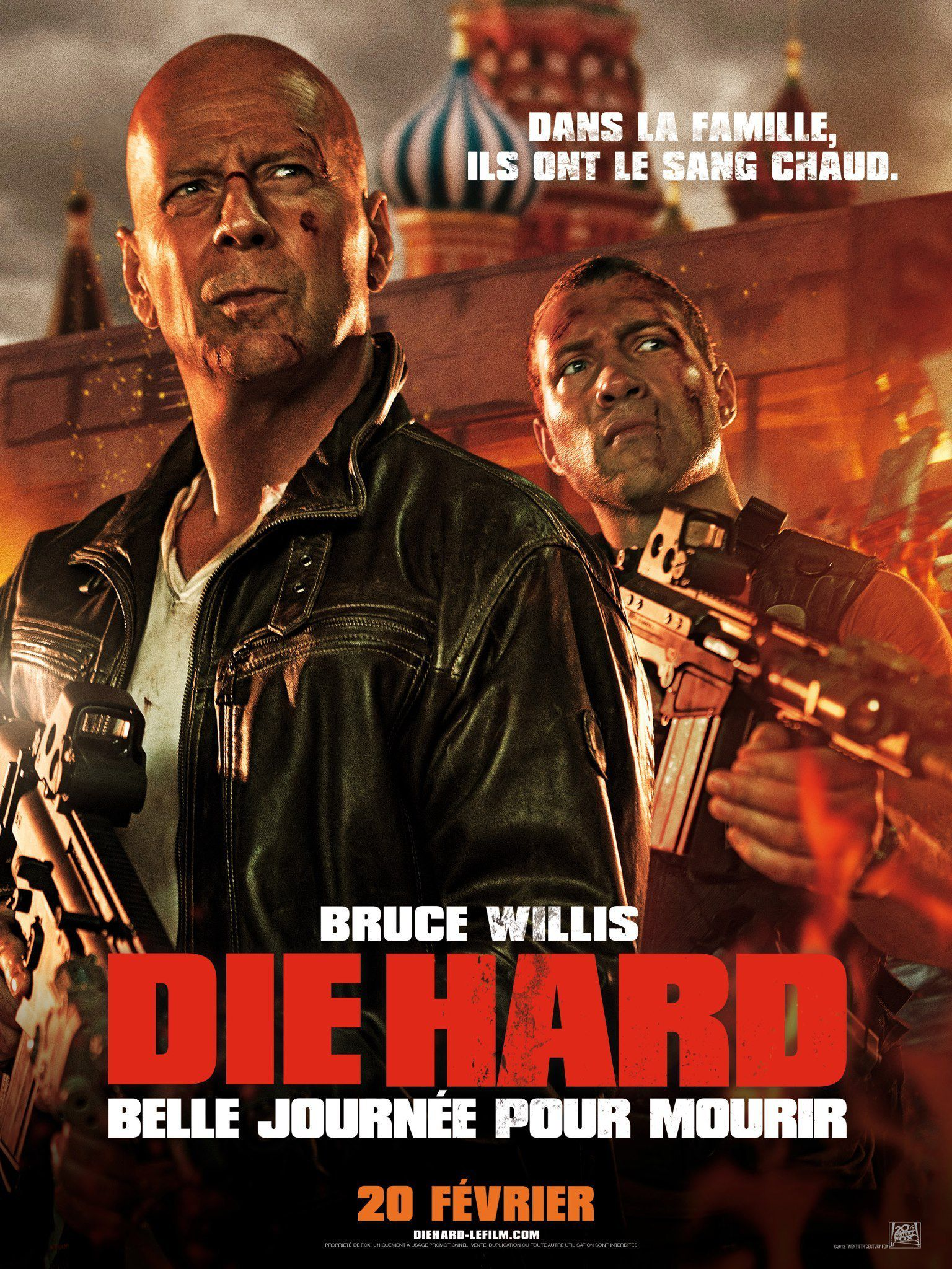 affiche poster die hard belle journée mourir good day disney fox