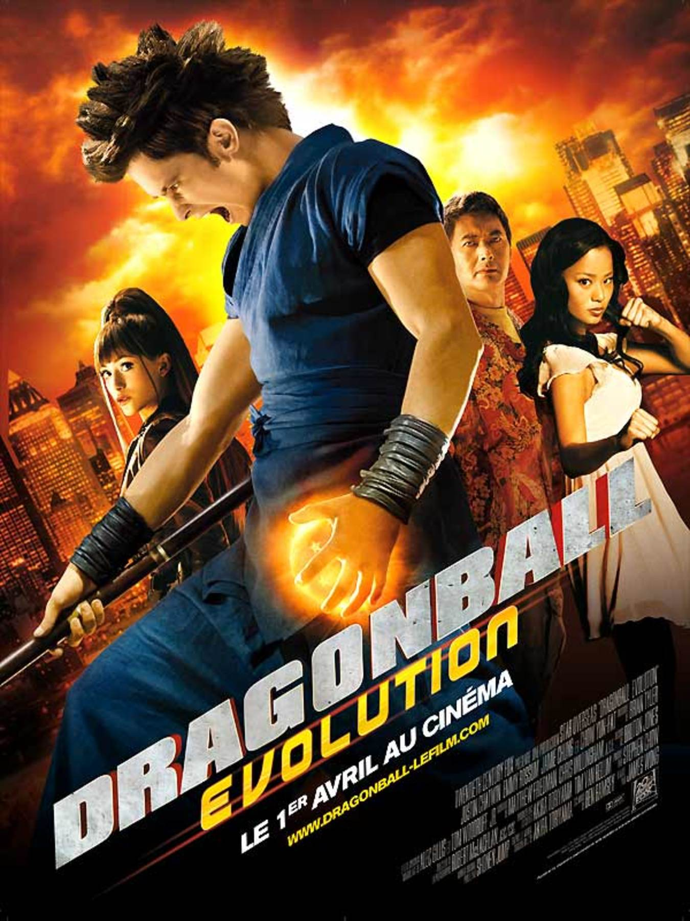 affiche poster dragonball evolution disney fox