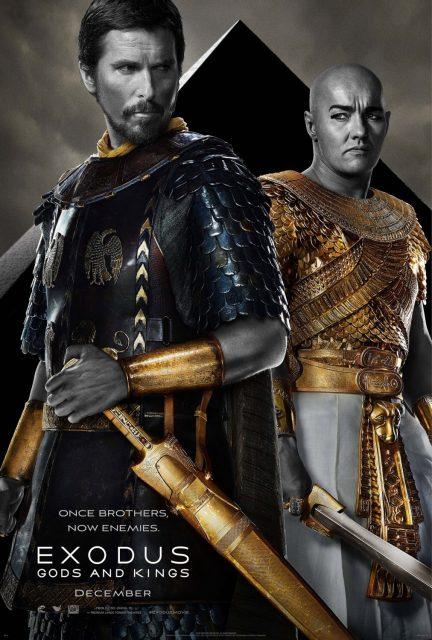 affiche poster exodus gods kings disney fox