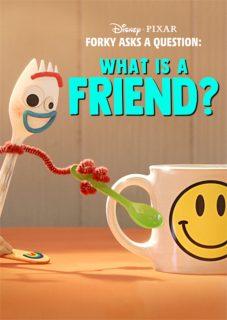 affiche poster fourchette forky question ami friend disney pixar