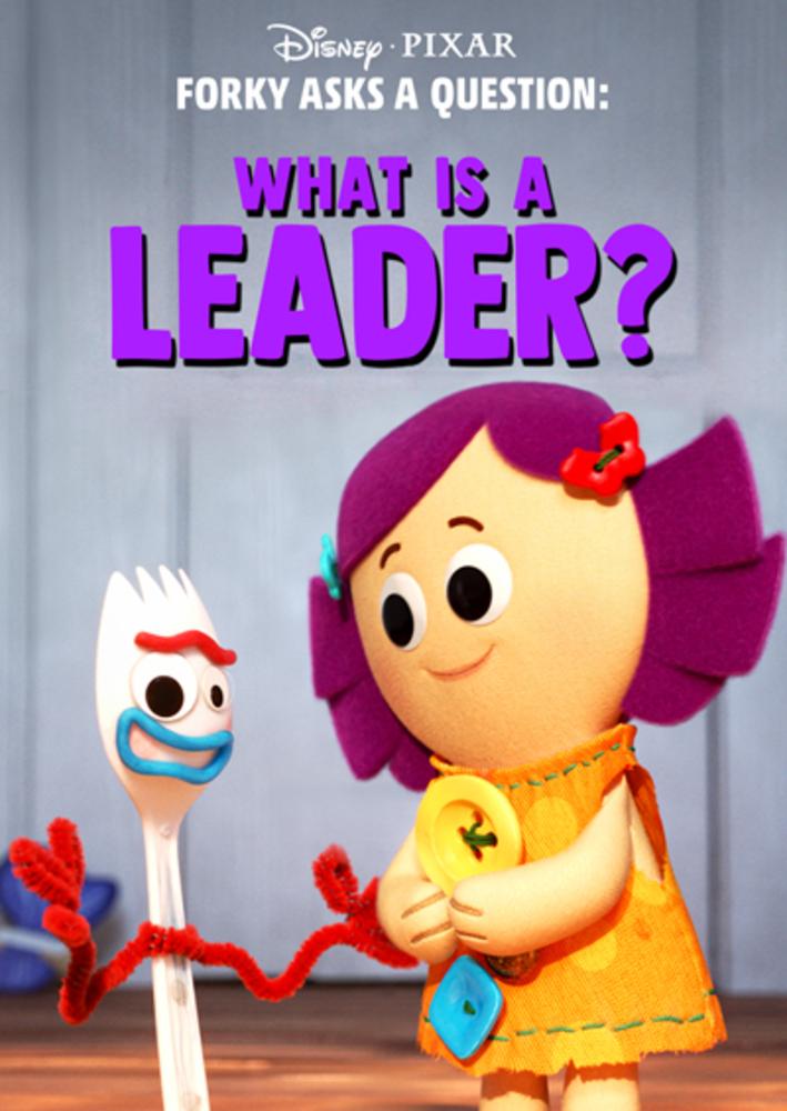 affiche poster fourchette question forky leader disney pixar