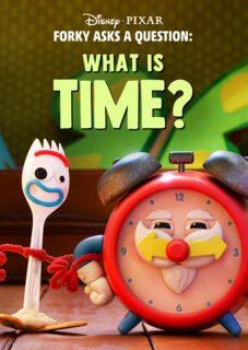 affiche poster fourchette forky question temps time disney pixar