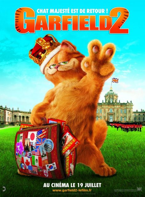 affiche poster garfield 2 tail two kitties disney fox