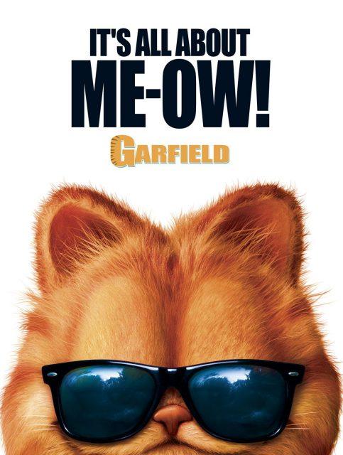 affiche poster garfield film movie disney fox