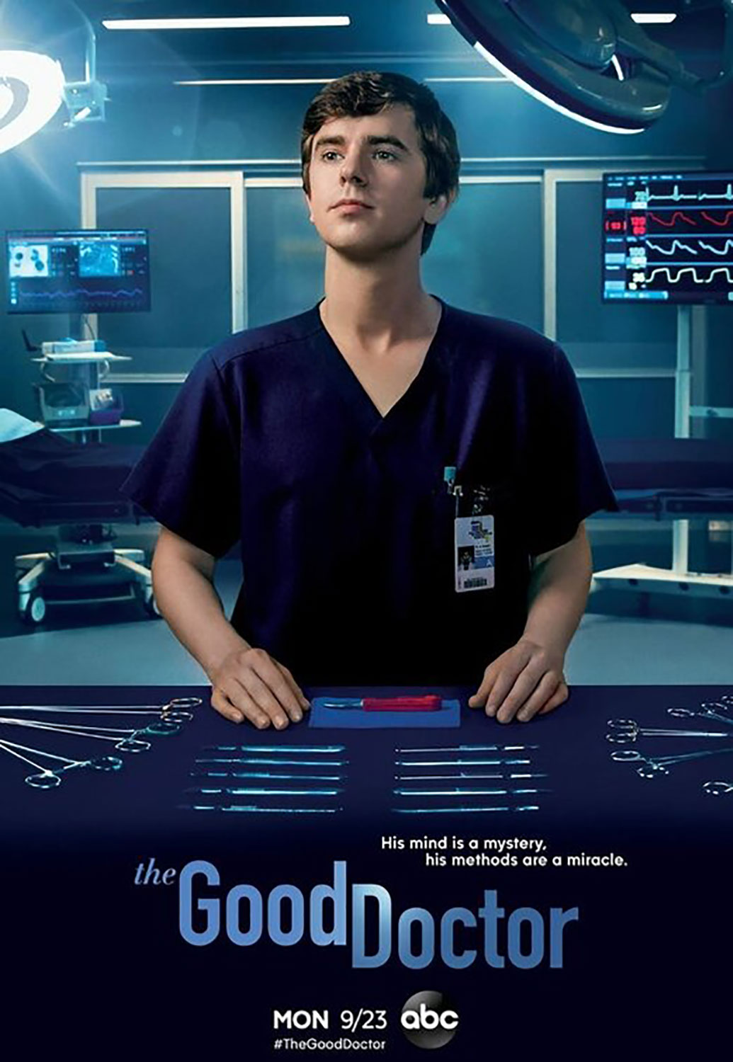 affiche poster good doctor saison season disney abc