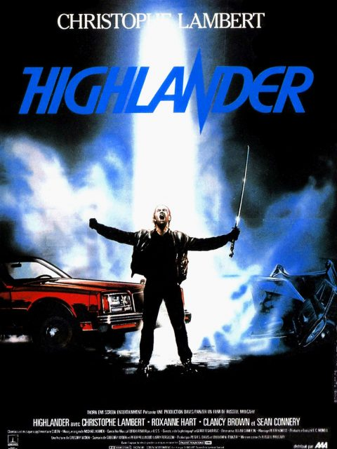 affiche poster highlander disney fox
