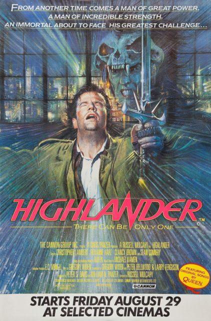 affiche poster highlander disney fox