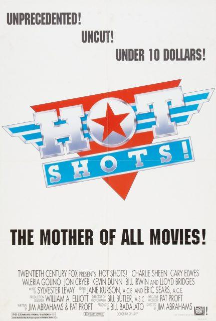 affiche poster hot shots disney fox