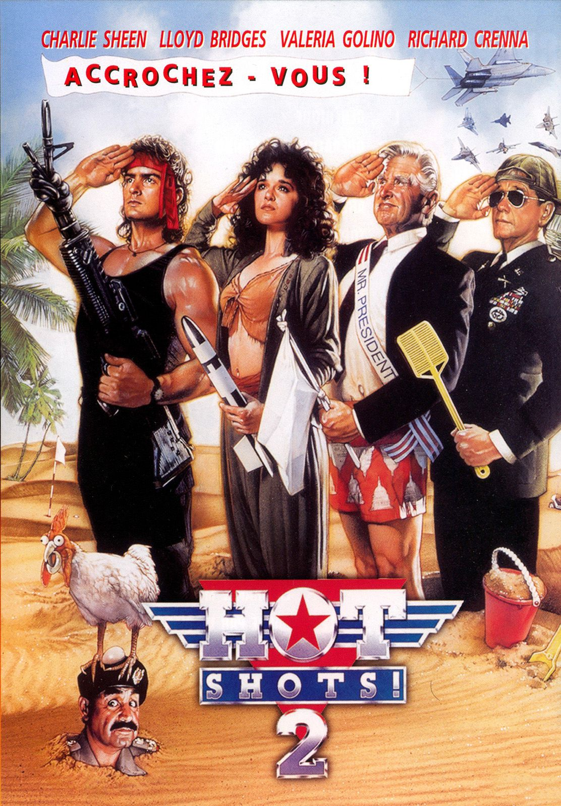 affiche poster hot shots 2 disney fox