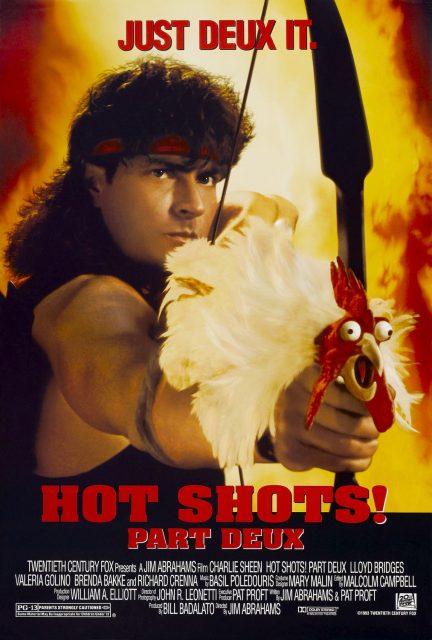affiche poster hot shots 2 disney fox