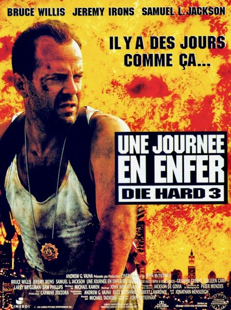 affiche poster journée enfer die hard vengeance disney fox