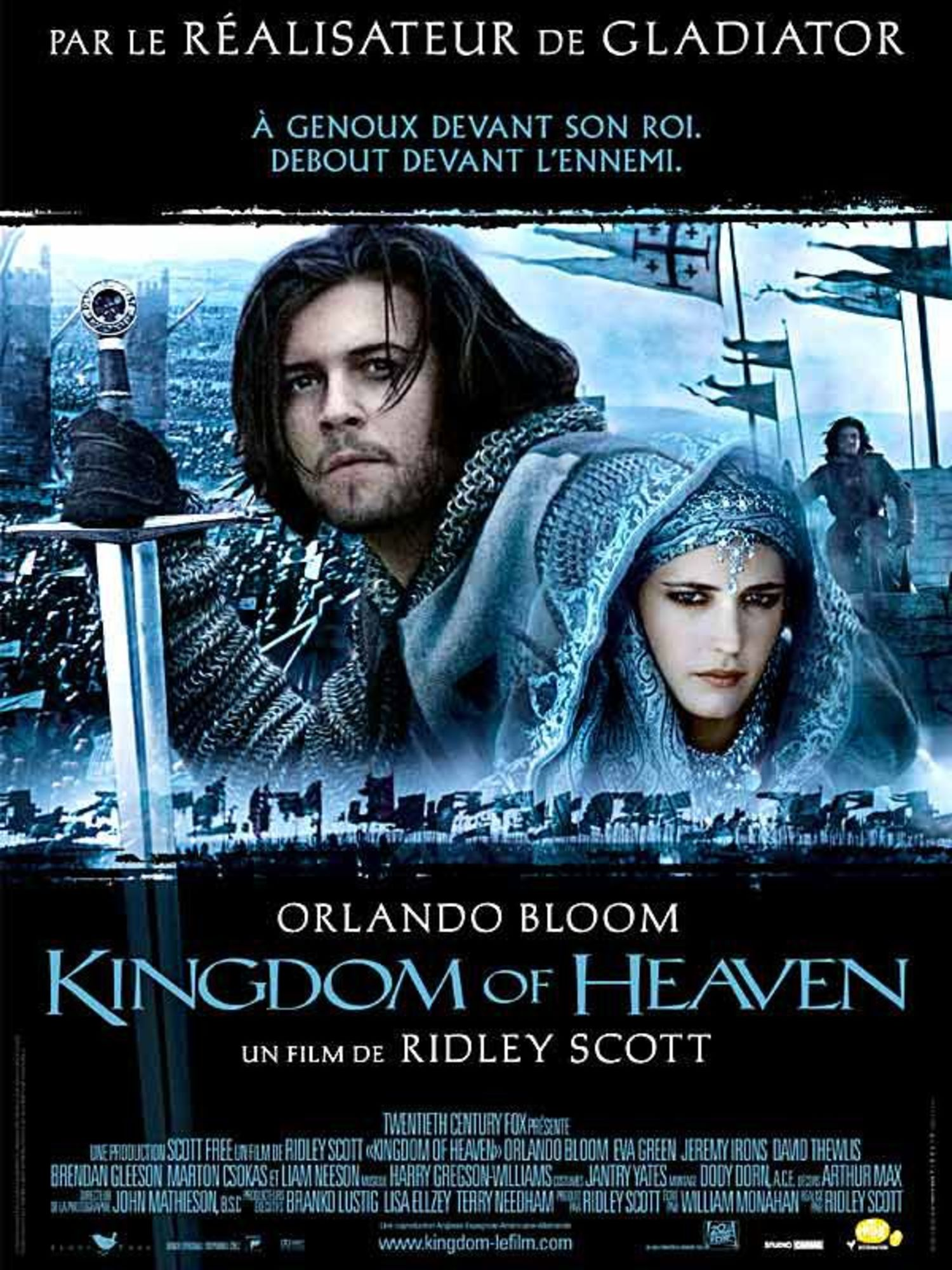 affiche poster kingdom heaven disney fox