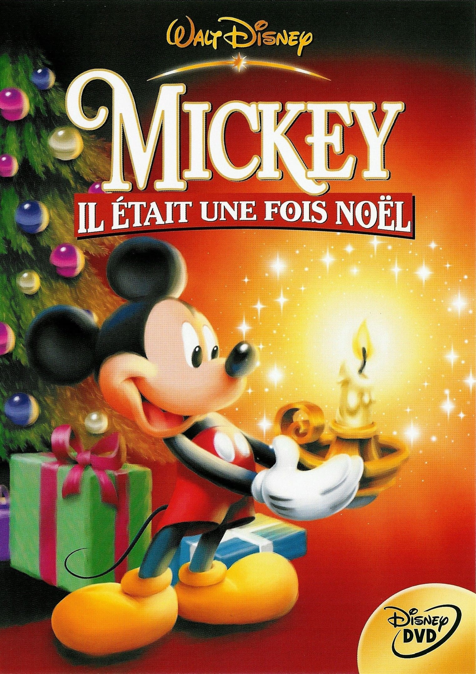 affiche poster mickey once upon christmas était fois disney