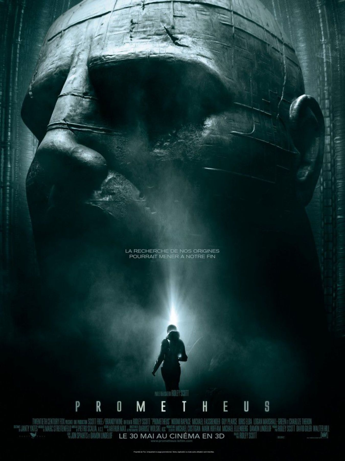 affiche poster prometheus disney fox
