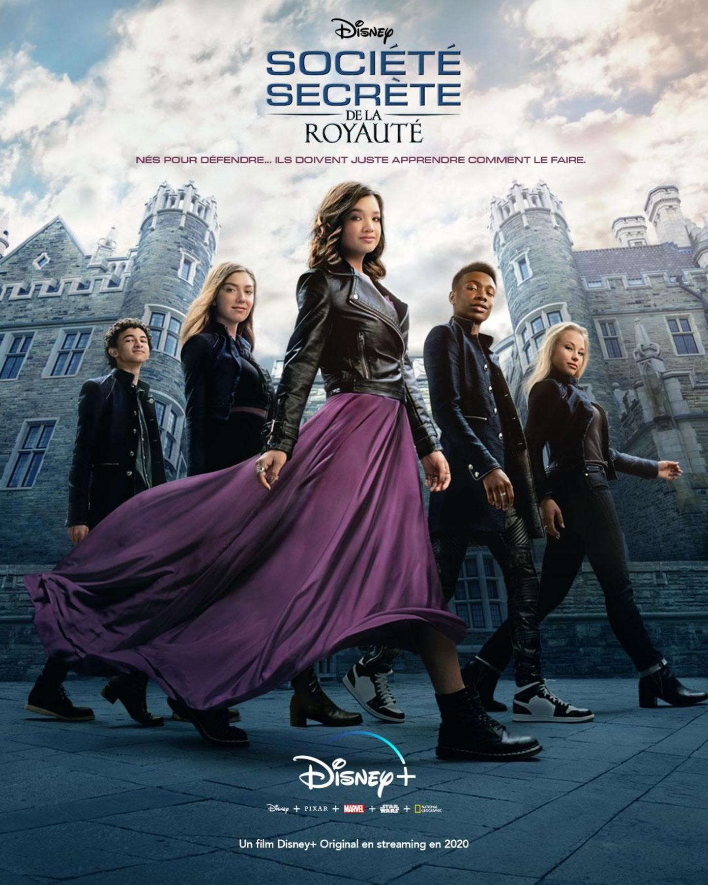 affiche poster société secrète royaute society second born royals disney plus