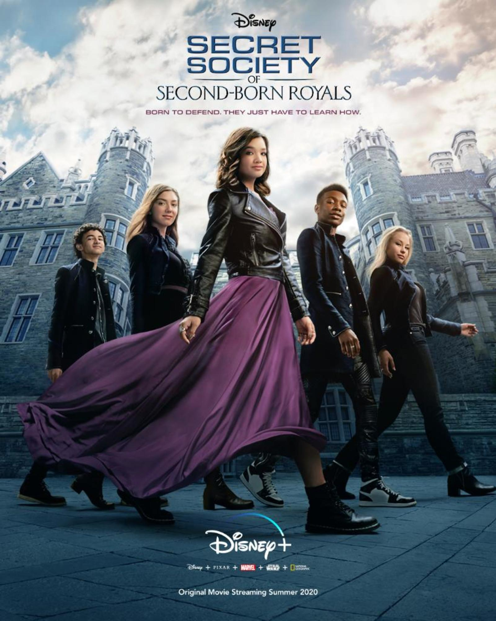affiche poster society second born royals disney plus