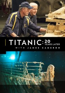 affiche poster titanic 20 ans après years later james cameron disney national geographic