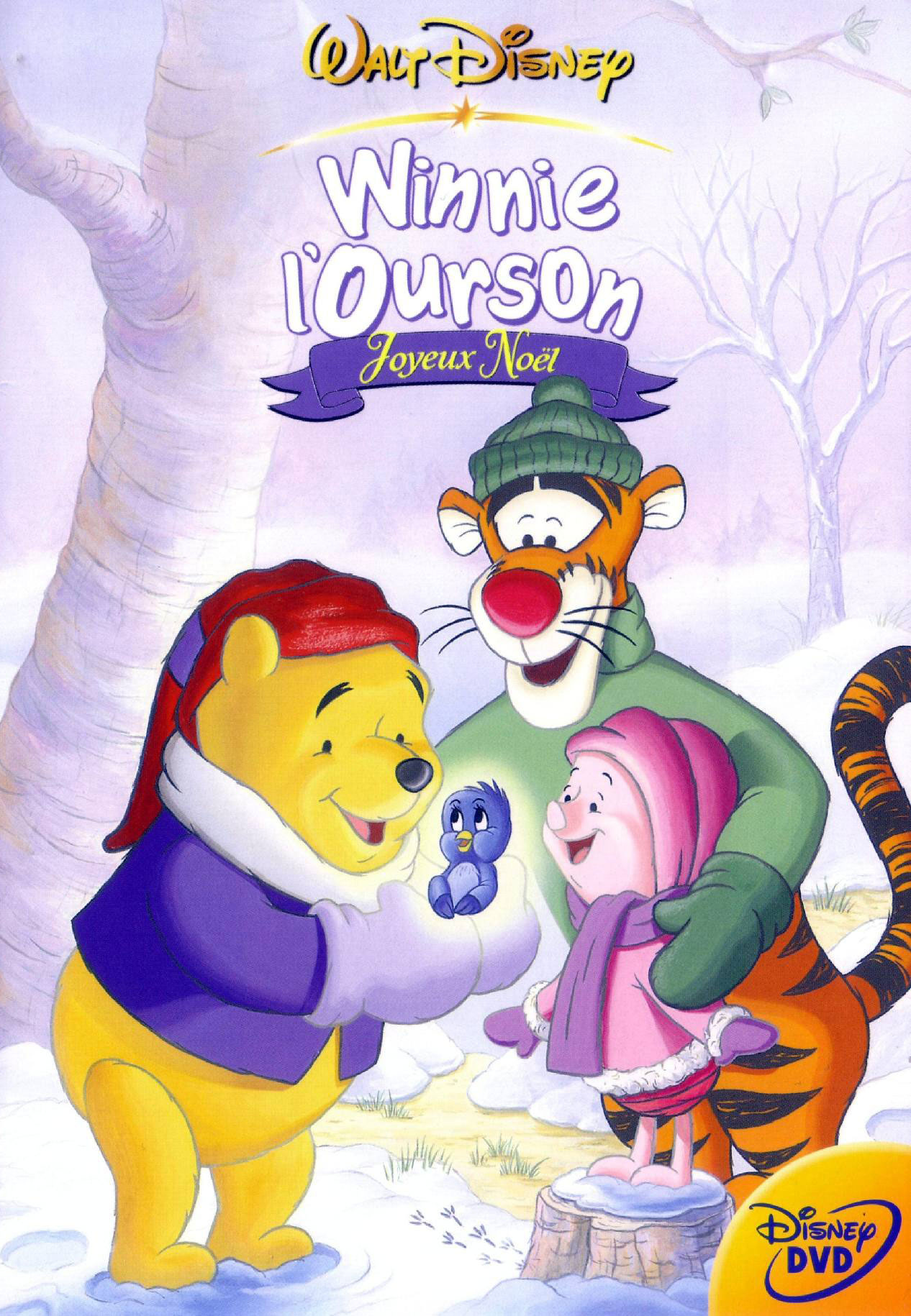 affiche poster winnie ourson joyeux noel seasons spring disney pooh