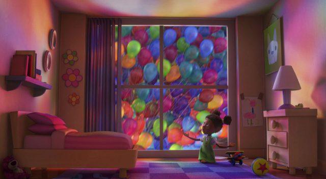 dee personnage character là-haut up disney pixar