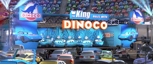 dinocogirls personnage character cars disney pixar