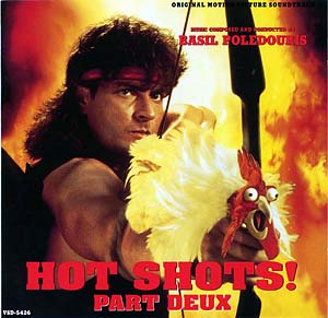 bande originale soundtrack ost score hot shots 2 disney fox