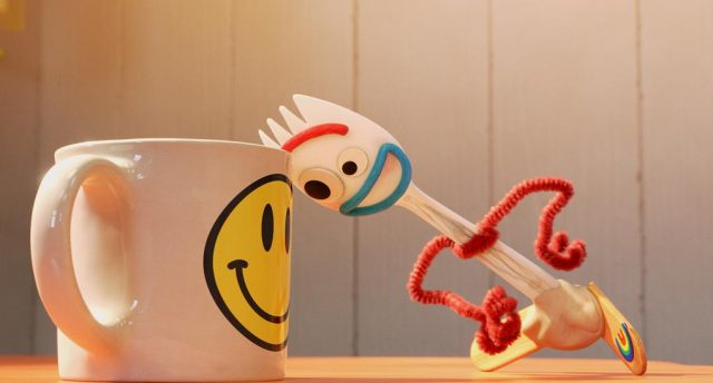 image fourchette forky question ami friend disney pixar