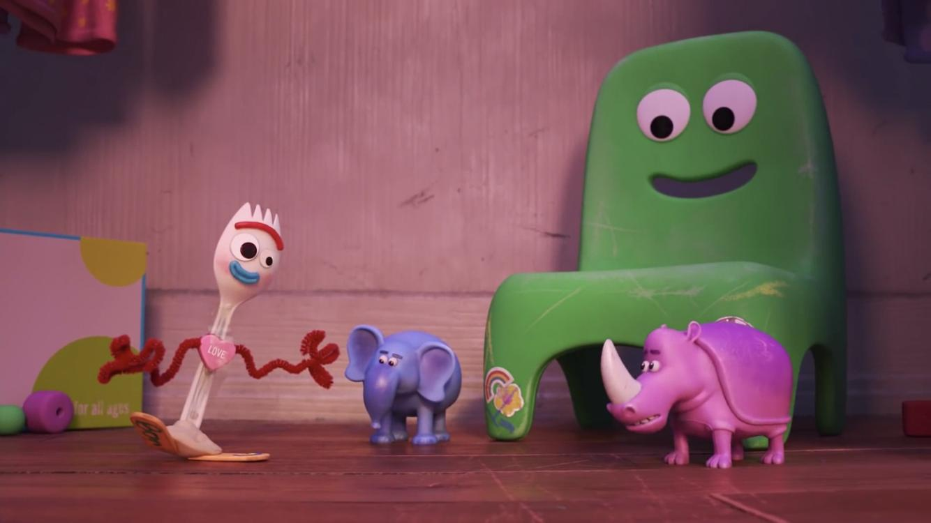 image fourchette forky question amour love disney pixar