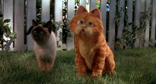 image garfield film movie disney fox