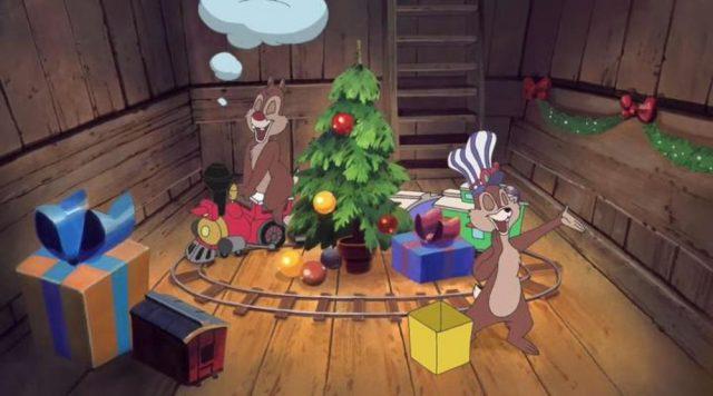 image mickey once upon christmas était fois disney