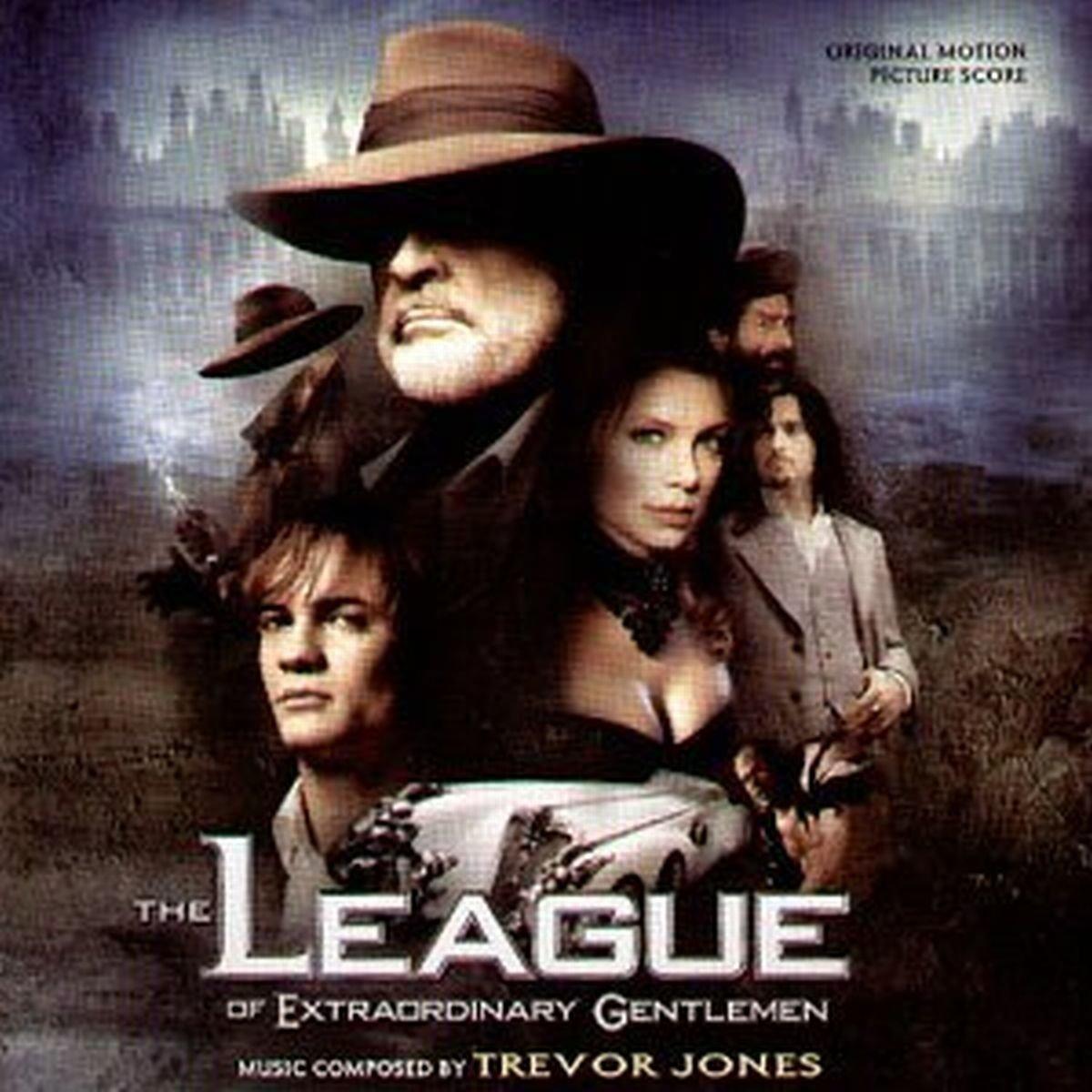 bande originale soundtrack ost score ligue league gentlemen extraordinaire Extraordinary disney fox