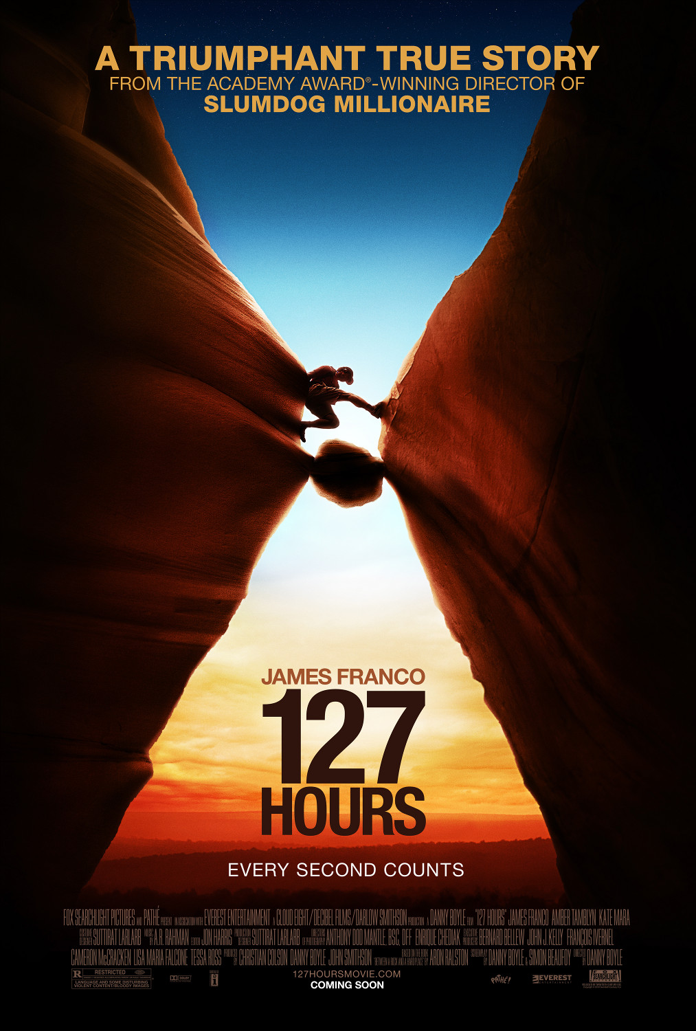 affiche poster 127 heures hours disney fox