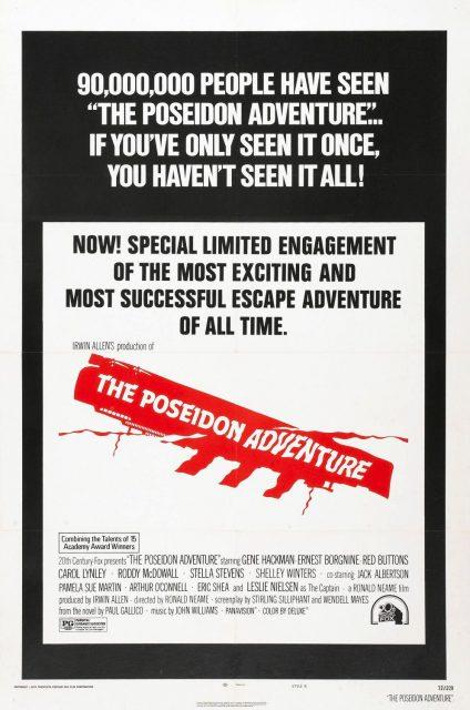 affiche poster aventure poseidon adventure disney fox