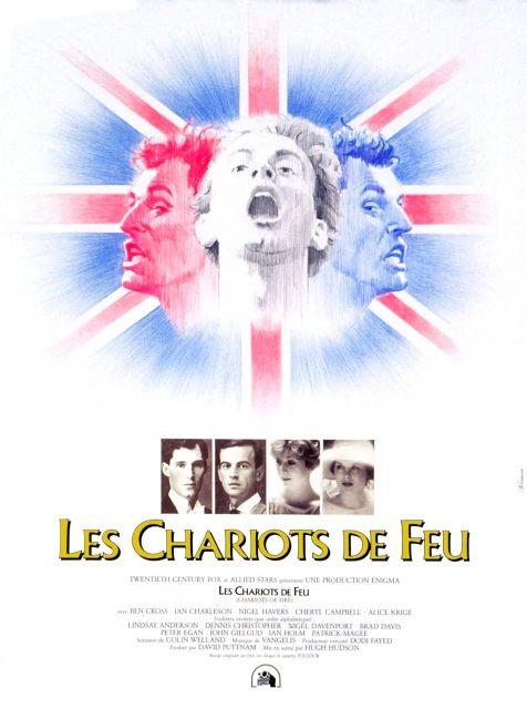affiche poster chariots feu fire disney fox