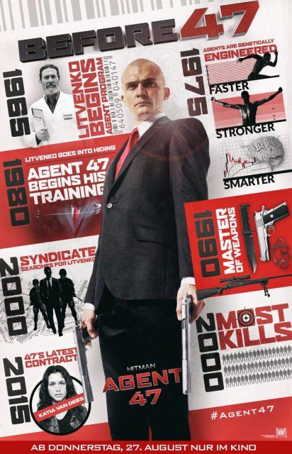 affiche poster hitman agent 47 disney fox