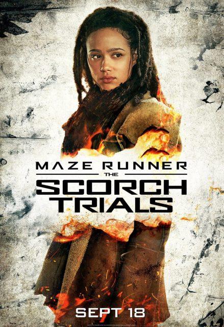 affiche poster labyrinthe terre brulee maze runner scorch trials disney fox