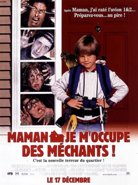 affiche poster maman occupe méchants home alone 3 disney fox