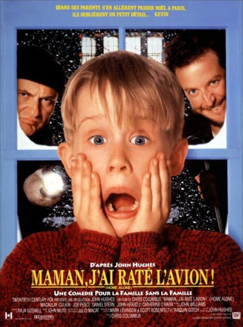 affiche poster maman raté avion home alone disney fox