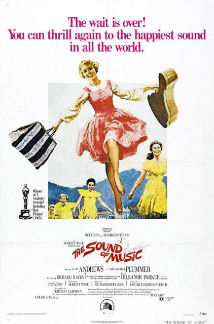 affiche poster mélodie bonheur sound music disney fox