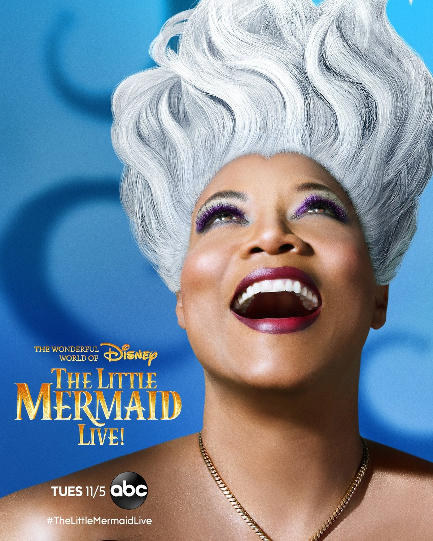 affiche poster petite sirène live little mermaid disney abc