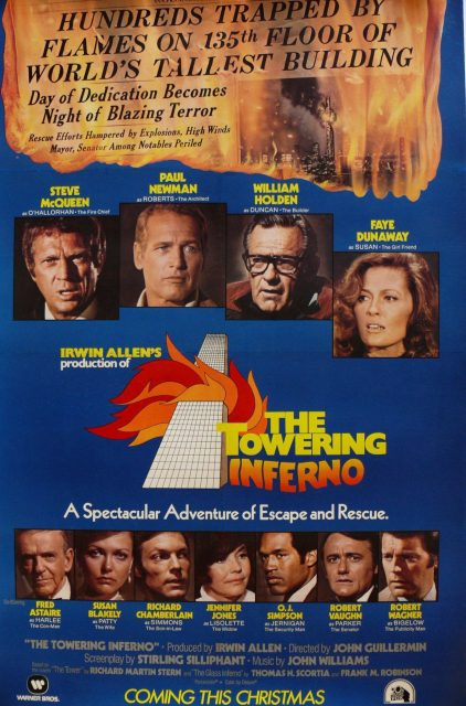 affiche poster tour infernale towering inferno disney fox