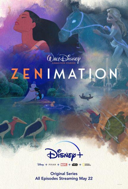 affiche poster zenimation disney